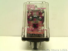 HONEYWELL MICRO SWITCH FE21-010 FE-S2443 RELAY 8 PINS COIL 12V 165OHMS E22575