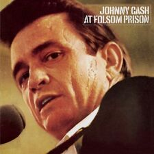 Johnny Cash AT FOLSOM PRISON (EU) 180g +MP3s COLUMBIA RECORDS New Vinyl 2 LP