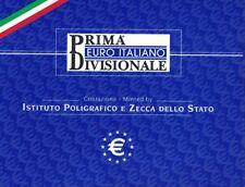 Italien KMS Kursmünzensatz 2002 ECO