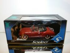 SOLIDO 8058 VW VOLKSWAGEN KARMANN GHIA CABRIOLET - RED 1:18 - VERY GOOD IN BOX