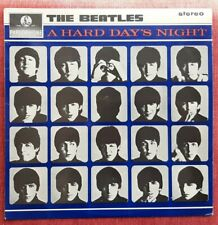 """The Beatles A Hard Day's Night UK Stereo Y&B Parlophone 1964 12"""" LP PCS 3058"""