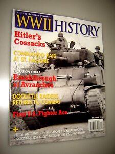 WORLD WAR II HISTORY MAGAZINE DECEMBER 2010 Hitler's Cossacks
