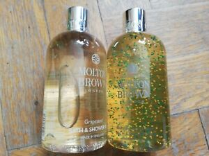 Molton Brown BRAND NEW x2 Bottles Bath & Shower Gels 300ml