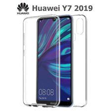 Funda 360º Gel TPU Hibrida Transparente para Huawei Y7 2019
