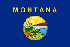 MONTANA FLAG U.S. STATE USA U.S.A. AMERICAN AMERICA