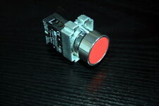 1PCS NEW FITS XB2BA42 RED 22MM RED Momentary PUSH BUTTON Switch