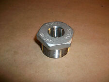 "Stainless Steel Reducer Fitting  1 1/4"" X 1/2""   SP114  MB-304    NEW"