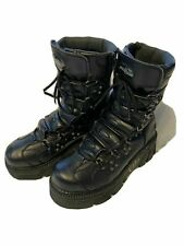 Black Vintage Mad Fish Boot (2005) - LEFT FOOT ONLY - Amputee - Footwear Art