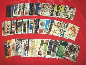 ICHIRO SUZUKI MARINERS YANKEES MARLINS LOT OF 80 CARDS WITH 11 INSERTS (18-76)
