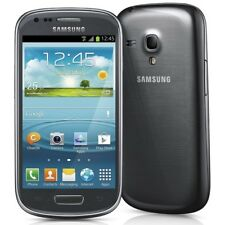 SAMSUNG GALAXY S SIII S3 MINI GT-I8190N 8GB GREY SMARTPHONE UNLOCKED NEW