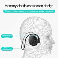 Wireless Bluetooth Earphone Neckband Sport Headphone HIFI Stereo Bass Headset