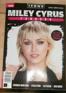 Icons Series magazine #6 Miley Cyrus Fanbook Hannah Montana Evolution Activism