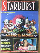 STARBURST MAGAZINE No 121 SEPTEMBER 1988 BEETLEJUICE - DOCTOR WHO - KILLER KLOWN