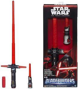 Star Wars The Force Awakens Kylo Ren Electronic Lightsaber Bladebuilders B2948