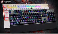 Motospeed CK108 USB Wired Mechanical Gaming Keyboard 18 Backlight for Desktop PC