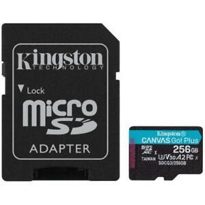 Kingston micro SDXC (T-Flash) 256GB Classe 10 di tipo UHS-I (U3) 170 MB/s Lettur
