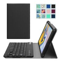 For Samsung Galaxy Tab A 8.0 inch 2018 Tablet Keyboard Case Cover Stand Leather