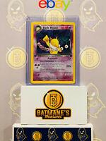 Dark Hypno 9/82 1st Edition LP Lightly Played Team Rocket Rare Holo Pokemon Card