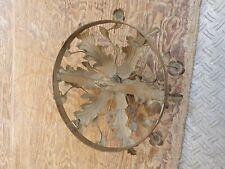 Lampadario Antico Soffitto In Ferro Fiori bello