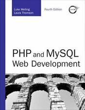 Php and MySql Web Development [With Cdrom] by Luke Welling.