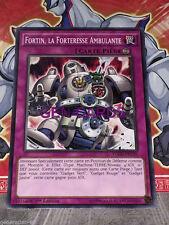 Carte YU GI OH FORTIN, FORTERESSE AMBULANTE YGLD-FRC39 x 3