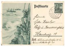 Deutsches Reich, Ganzsache P 266 KBS Mulsum über Bremervörde 01.12.1937