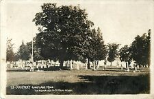 A View of the Cemetery, Long Lake MN RPPC 1910