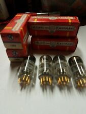 Matched Quad  HK by Amperex 7308 6DJ8 6922  NIB/NOS dual triode tube tested