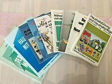 Konvolut Bücher Paket Haushaltsführung Hauswirtschaft Ernährung Textil Nähen TOP