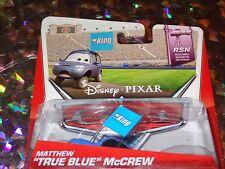 "DISNEY PIXAR CARS ""MATTHEW TRUE BLUE MCREW"" Scale 1:55, Die-Cast Metal, Mattel"
