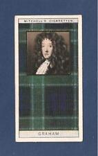GRAHAM CLAN  TARTAN 1927 original card