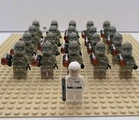 20x Camo Clone Troopers Mini Figures (LEGO STAR WARS Compatible)