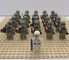 20x Camo Clone Troopers Mini Figures (LEGO STAR WARS Compatible)