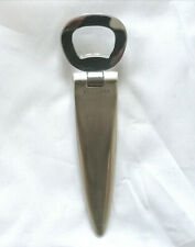 Bulgari handle bottle opener Bvlgari vintage sterling silver bar set steel Italy