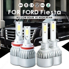 For Ford Fiesta 2017-2014 LED Headlight Conversion Kit H1 H11 Bulbs Hi/Lo Beam