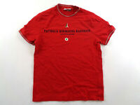 AERONAUTICA MILITARE T-Shirt Casual Classic Red Size S Small