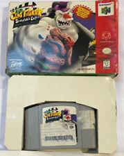 ClayFighter Sculptor's Cut Nintendo 64 (N64) Original Authentic Game & Box! RARE