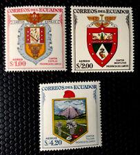 Ecuador Stamps Sc C316-C318 set MNH