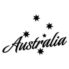 AUSTRALIA SOUTHERN CROSS Sticker Aussie Car Flag 4x4 Funny Ute #5604EN