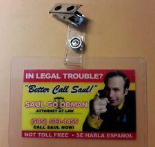 Better Call Saul ID Badge - Saul Goodman cosplay costume prop