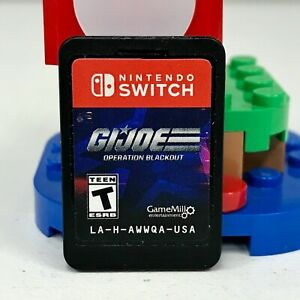 Gi Joe Operation Blackout (Nintendo Switch, 2020) Cartridge Only LA-H-AWWQA-USA