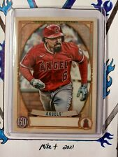 2021 Topps Gypsy Queen MISSING NAMEPLATE #49 Anthony Rendon (Angels)