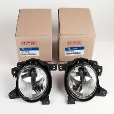 Genuine Hyundai Fog Light Set 2010-12 Santa Fe L&R 92201-2B500, 92202-2B500 Only