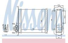 NISSENS Radiador de calefacción VOLVO 850 V70 C70 S70 73640