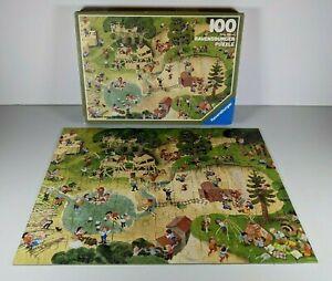 Vintage Ravensburger 100 Piece Playground Puzzle 1984 COMPLETE