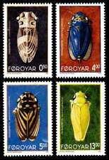 Faroe Islands 1995 Insects, Leafhoppers set, MNH / UNM
