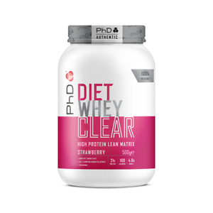PhD Nutrition Diet Whey Clear Protein (Choose Flavour)