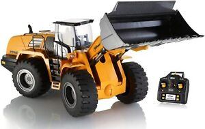 Top Race, Professional RC Front Loader Construction Tractor; Hobby Grade Metal