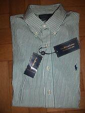 Ralph Lauren Men's Check Slim Collared Casual Shirts & Tops