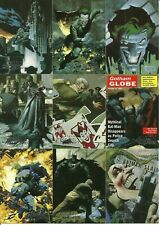 1996 Skybox DC Comics Batman master Series set + bonus wrappers and promo card
